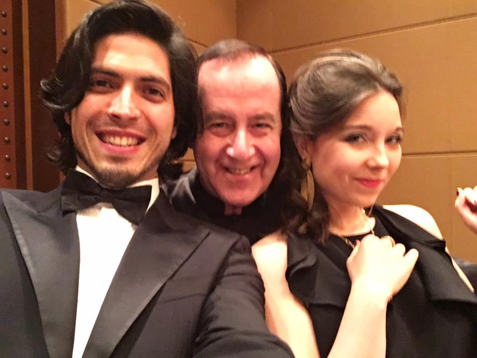 Concert in Dubai with Semjon Skigin and Sara Gouzy